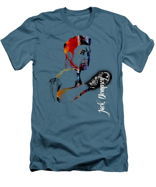 Jack Dempsey Collection Men's T-Shirt (Slim Fit) by Marvin Blaine