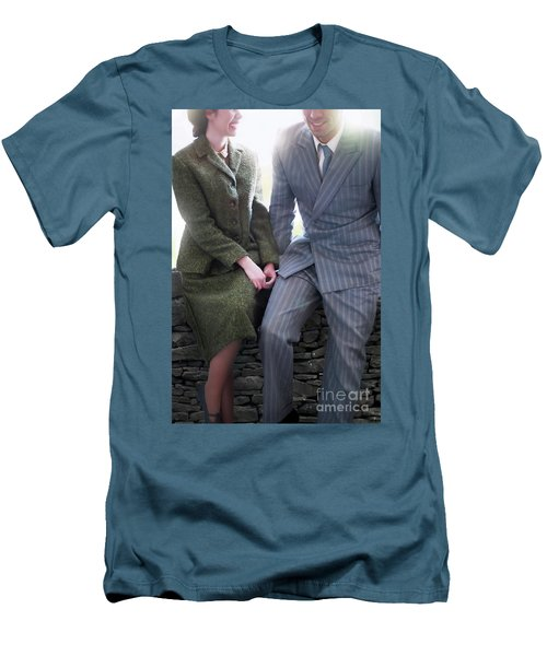 1940s Couple Men's T-Shirt (Athletic Fit)