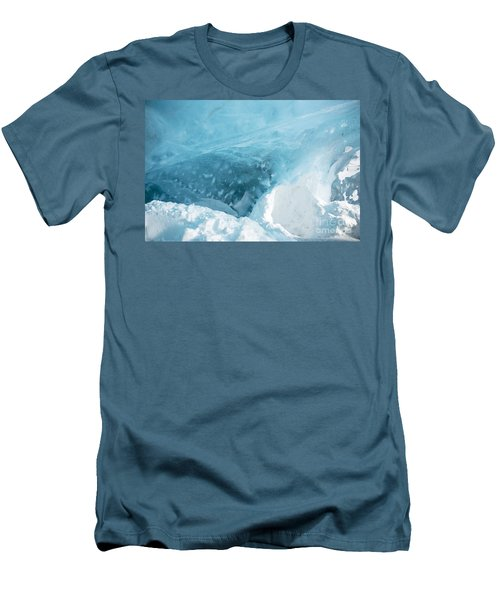 Iceland Men's T-Shirt (Slim Fit) by Milena Boeva