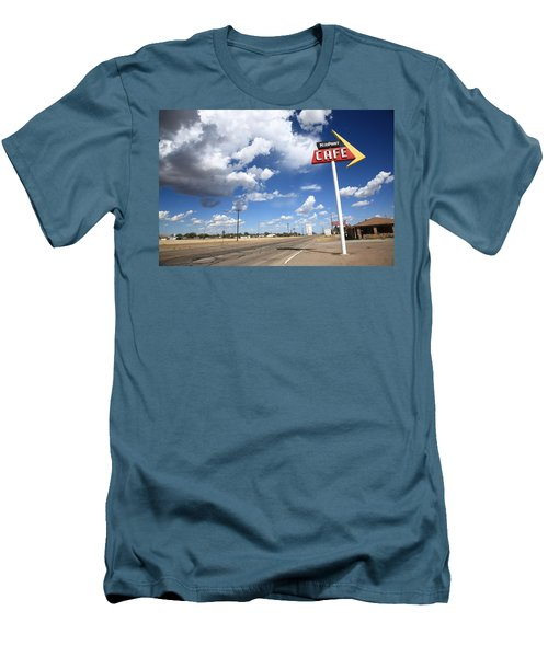 Route 66 Cafe Men's T-Shirt (Athletic Fit)