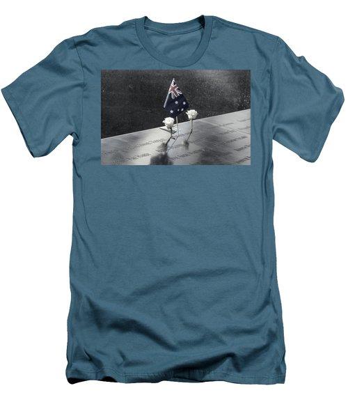 911 Memorial Pool-5 Men's T-Shirt (Athletic Fit)