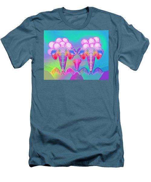 917 - Icecream Summerfruit A  Men's T-Shirt (Athletic Fit)