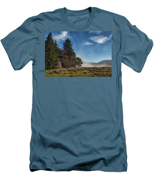 Men's T-Shirt (Athletic Fit) featuring the photograph A Beautiful Scottish Morning by Jeremy Lavender Photography