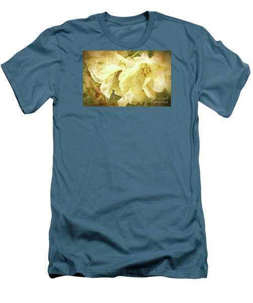 Men's T-Shirt (Slim Fit) featuring the photograph A Bunch Of Birthday Wishes by Jean OKeeffe Macro Abundance Art