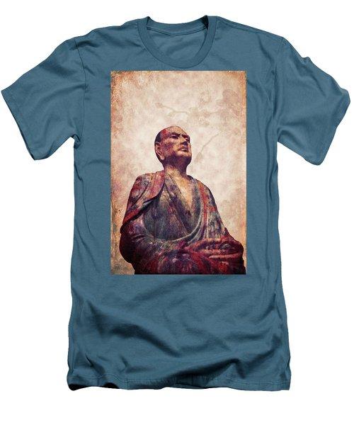 Buddha 5 Men's T-Shirt (Slim Fit) by Lynn Sprowl