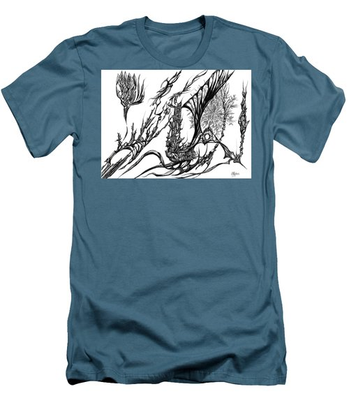 A Different Slant Men's T-Shirt (Slim Fit) by Charles Cater