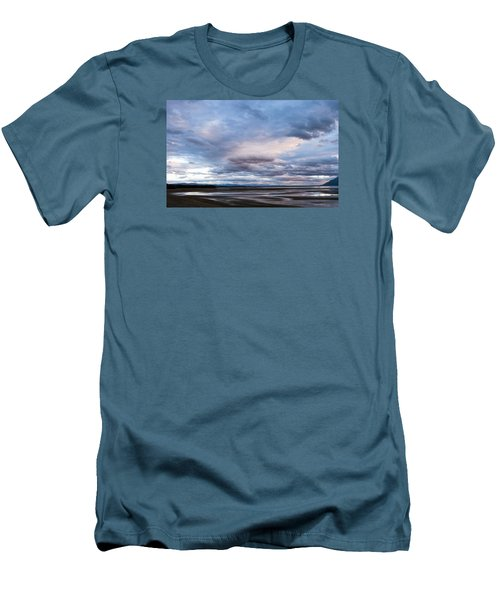 Men's T-Shirt (Slim Fit) featuring the photograph A Dry Jackson Lake by Monte Stevens