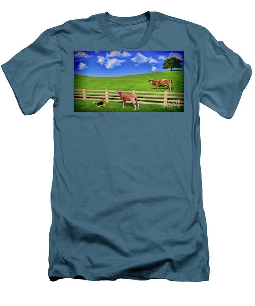 A Field Men's T-Shirt (Athletic Fit)