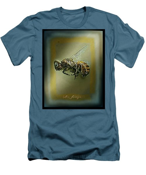 A Humble Bee Remembered Men's T-Shirt (Slim Fit) by Hartmut Jager