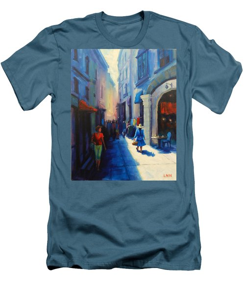 A Lady From Cajamarca In The City Men's T-Shirt (Athletic Fit)