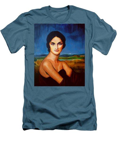 A Lady Men's T-Shirt (Athletic Fit)