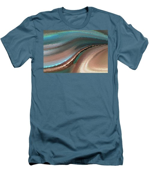 A Life Changing Belief. Romans 10 9 Men's T-Shirt (Slim Fit) by Mark Lawrence