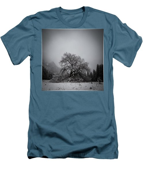 A Magic Tree Men's T-Shirt (Slim Fit) by Lora Lee Chapman