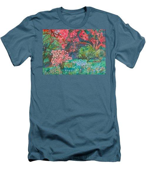A Memory Men's T-Shirt (Slim Fit) by Kendall Kessler