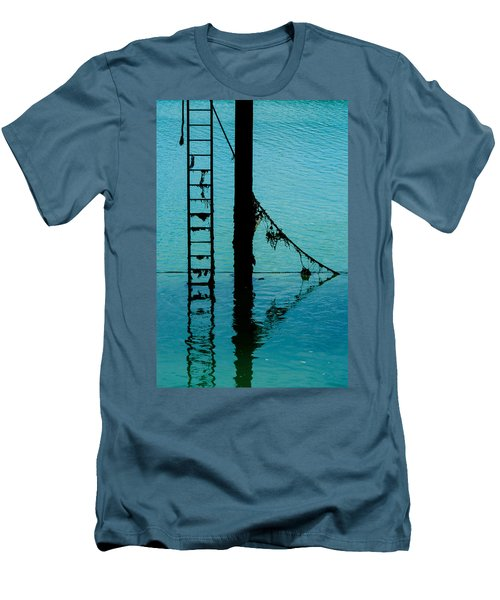 Men's T-Shirt (Slim Fit) featuring the photograph A Modicum Of Maritime Minimalism by Chris Lord