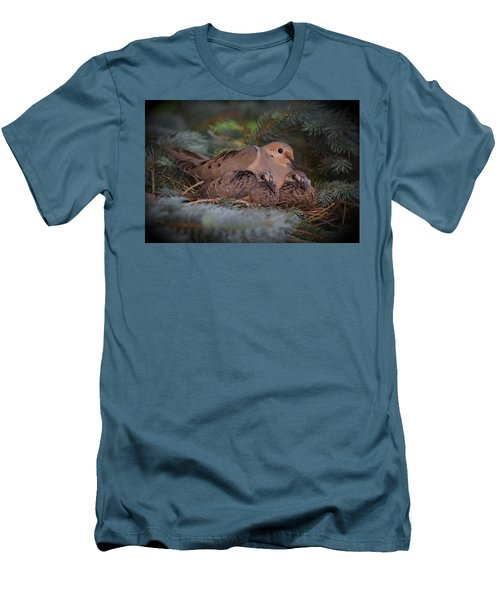 A Mother's Love Men's T-Shirt (Slim Fit) by Gary Smith