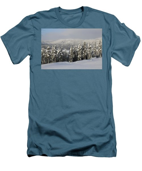 A Norwegian Valley  Men's T-Shirt (Athletic Fit)