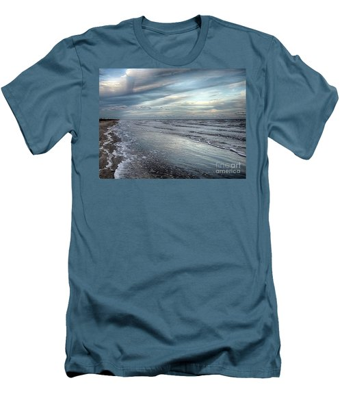 A Peaceful Beach Men's T-Shirt (Athletic Fit)