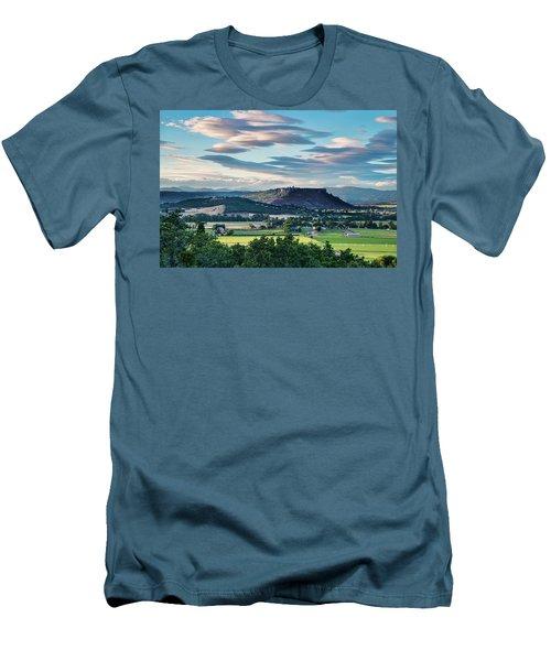 A Peaceful Land Men's T-Shirt (Athletic Fit)