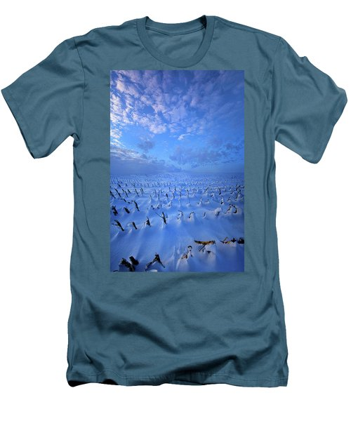 Men's T-Shirt (Slim Fit) featuring the photograph A Quiet Light Purely Seen by Phil Koch