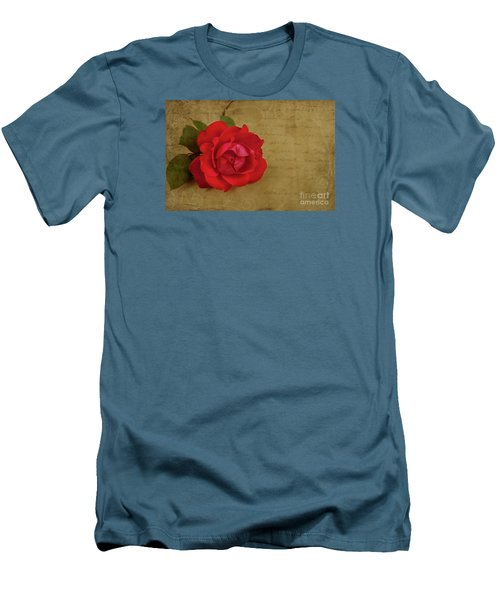 A Rose By Any Other Name Men's T-Shirt (Slim Fit) by Lena Auxier