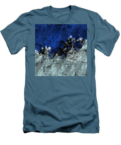 Men's T-Shirt (Athletic Fit) featuring the digital art A Sea Storm In My Heart by Silvia Ganora