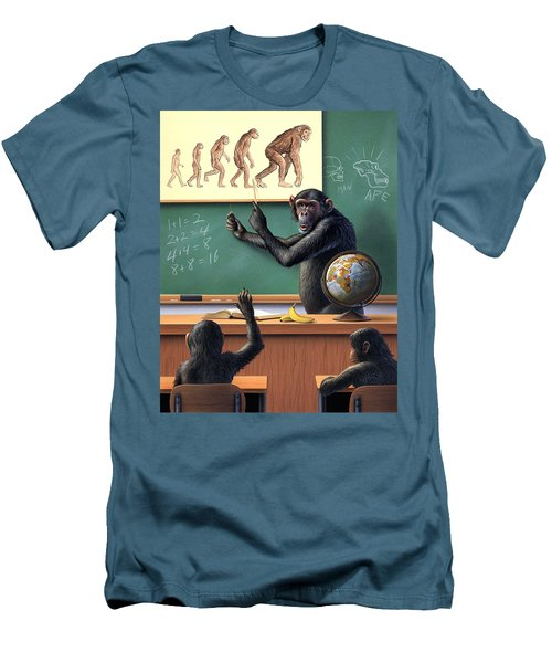 A Specious Origin Men's T-Shirt (Slim Fit) by Jerry LoFaro