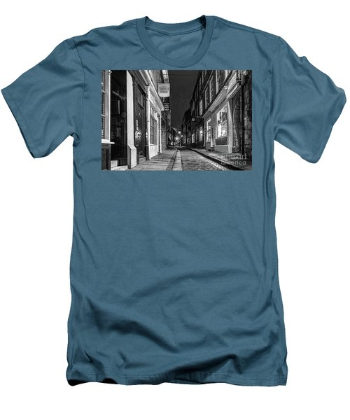 A Step Back In Time Men's T-Shirt (Slim Fit) by David  Hollingworth