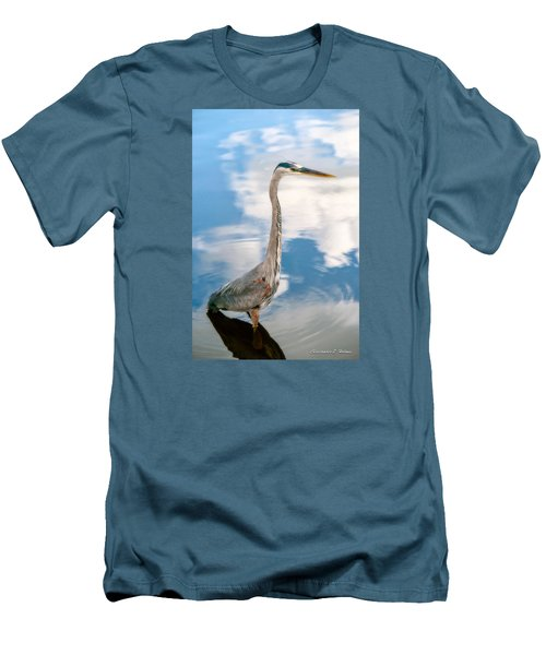 Men's T-Shirt (Slim Fit) featuring the photograph A Stroll Among The Clouds by Christopher Holmes