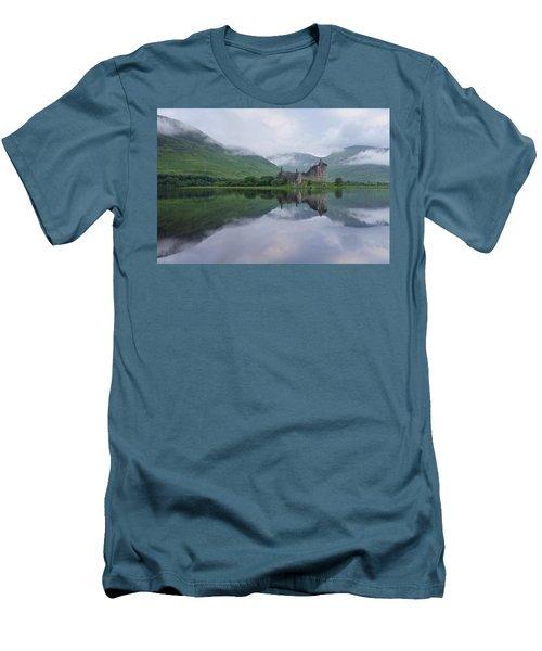 A Summers Morning At Kilchurn Men's T-Shirt (Athletic Fit)