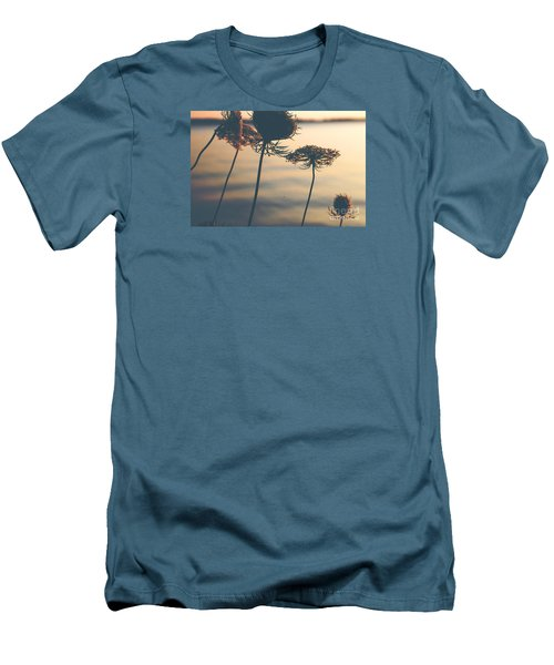 A Vintage Sunset Men's T-Shirt (Slim Fit) by Rebecca Davis