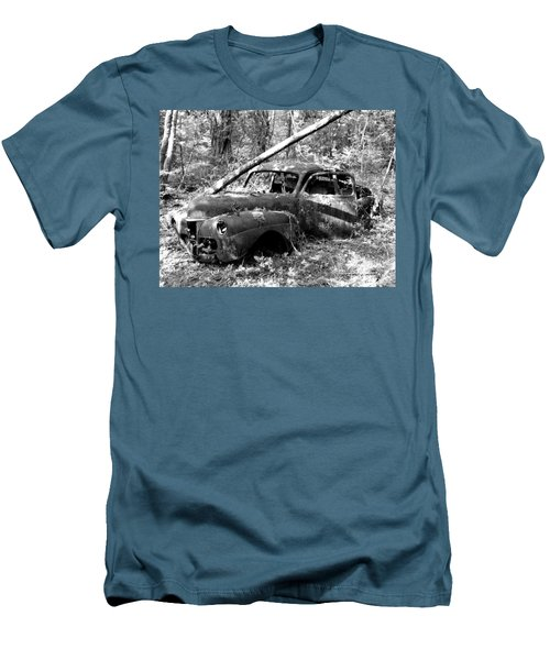 Abandoned Men's T-Shirt (Slim Fit) by Mark Alan Perry