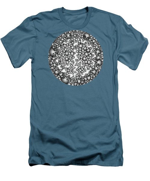 Abstract Macro Shapes Men's T-Shirt (Slim Fit) by Phil Perkins