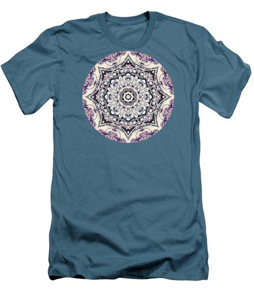 Abstract Octagonal Mandala Men's T-Shirt (Slim Fit) by Phil Perkins