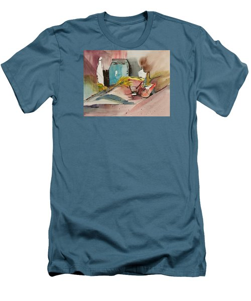 Abstract Opus 3 Men's T-Shirt (Slim Fit) by Larry Hamilton