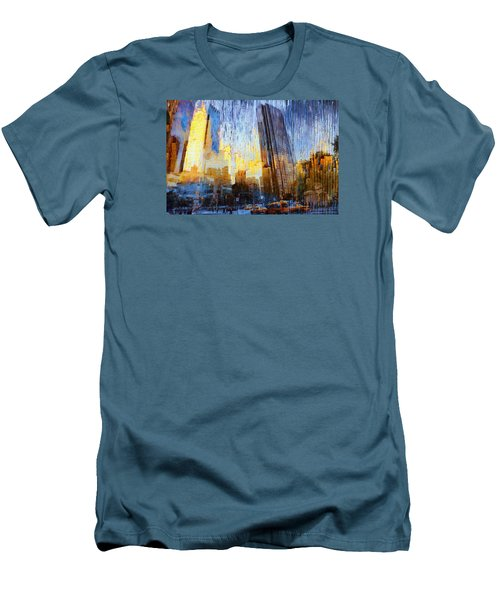 Men's T-Shirt (Slim Fit) featuring the photograph Abstract Vision by John Rivera