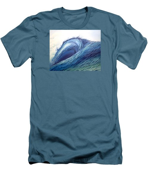 Abyss Men's T-Shirt (Slim Fit) by William Love