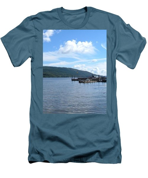 Across The Water Men's T-Shirt (Athletic Fit)
