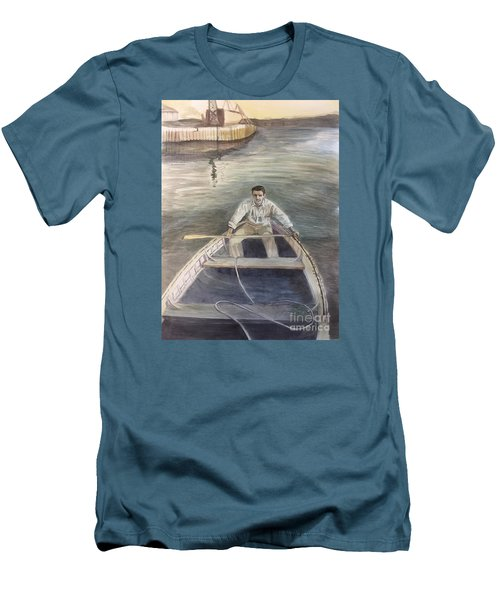 Active Duty-1946 Men's T-Shirt (Athletic Fit)