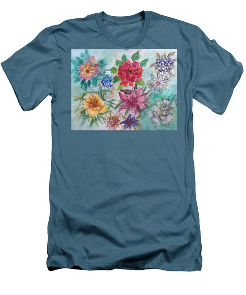 Adele's Garden Men's T-Shirt (Athletic Fit)