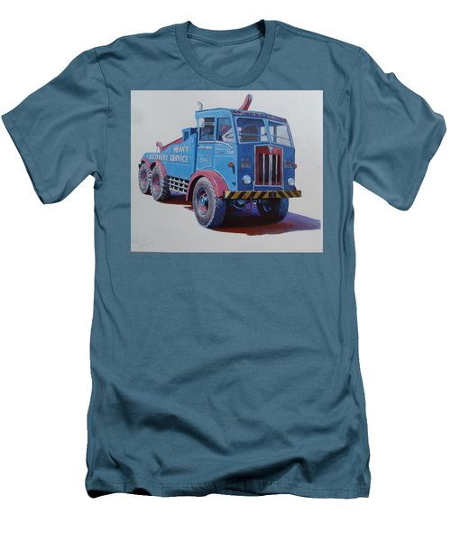 Men's T-Shirt (Slim Fit) featuring the painting Aec Militant Lloyds by Mike Jeffries