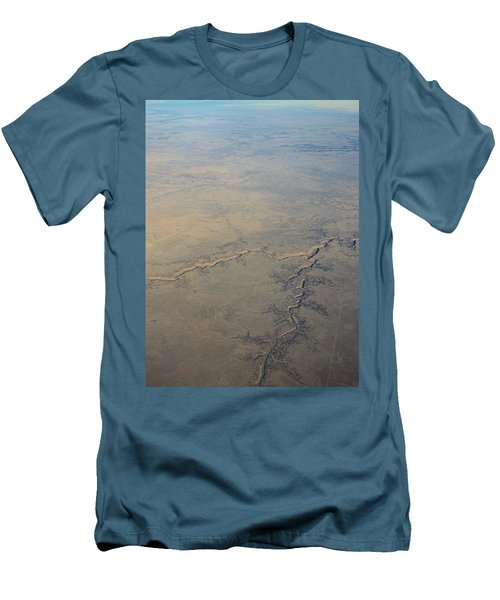 Men's T-Shirt (Slim Fit) featuring the photograph Aerial 2 by Steven Richman