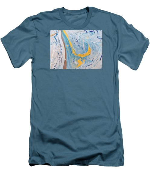 African Dolphin Coast Men's T-Shirt (Athletic Fit)