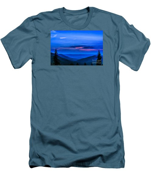 After Sunset Men's T-Shirt (Slim Fit) by Thomas R Fletcher