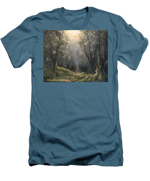 After The Rain  Men's T-Shirt (Athletic Fit)