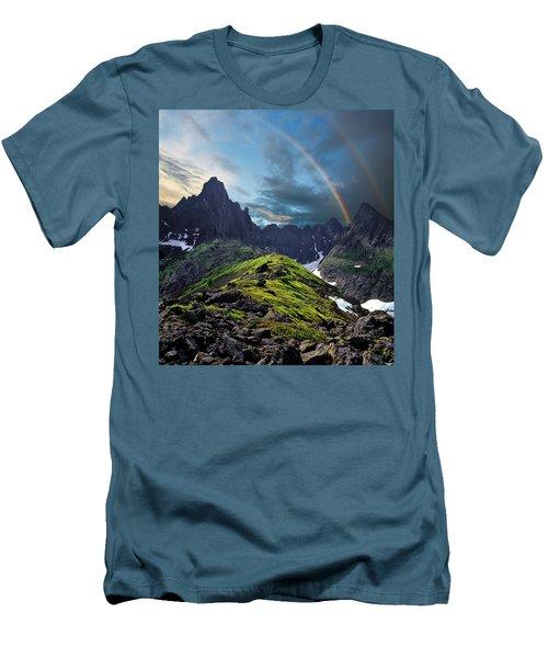 After The Rain Storm Men's T-Shirt (Slim Fit) by Vladimir Kholostykh