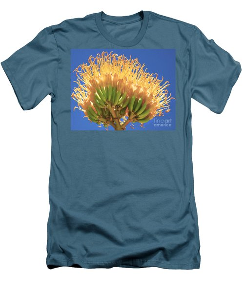 Agave Bloom Men's T-Shirt (Athletic Fit)