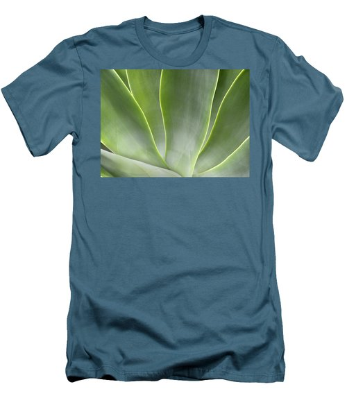 Agave Leaves Men's T-Shirt (Athletic Fit)