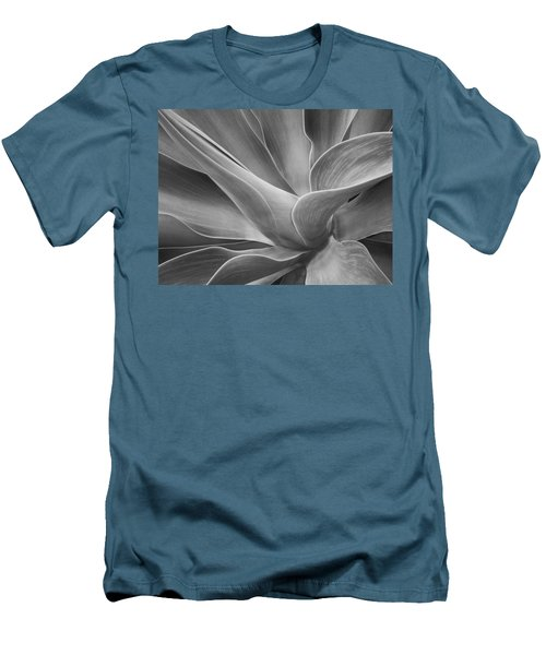 Agave Shadows And Light Men's T-Shirt (Athletic Fit)