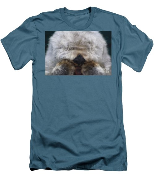 Men's T-Shirt (Slim Fit) featuring the photograph Ahhhhhhhh by Nick Gustafson